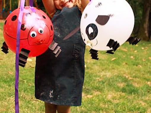 气球娃娃制作图解狗
