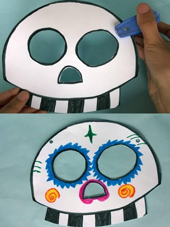幼儿园做面具步骤小猪佩奇