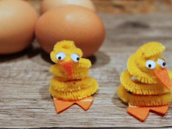 简单又可爱的小鸡就做好啦